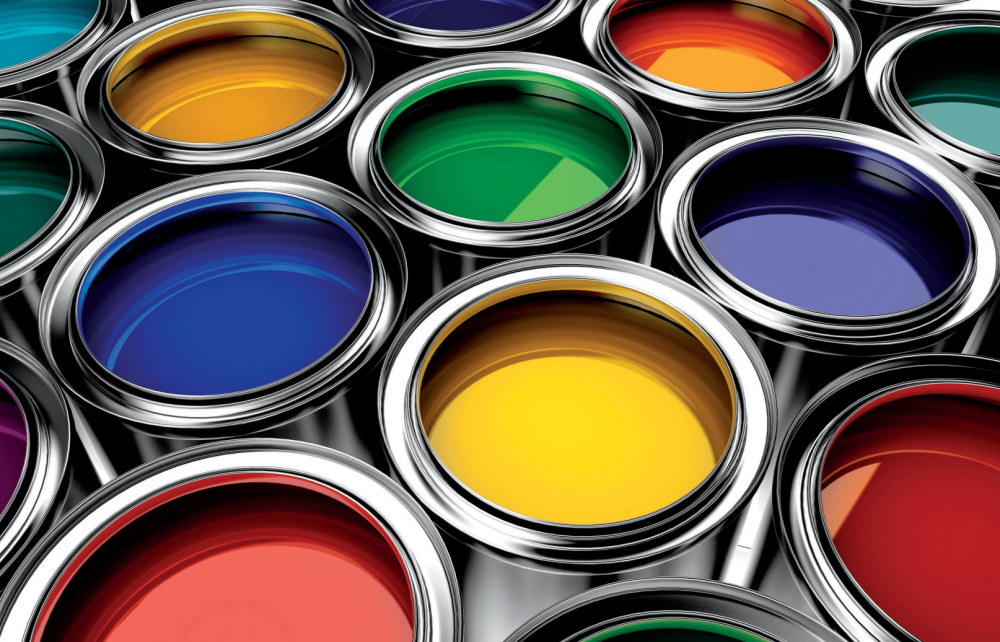 Open paint cans, Colonial Chemical, Inc., US Chemical Manufacturers